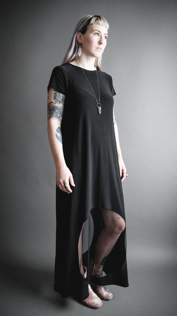 Porthole Maxi Dress