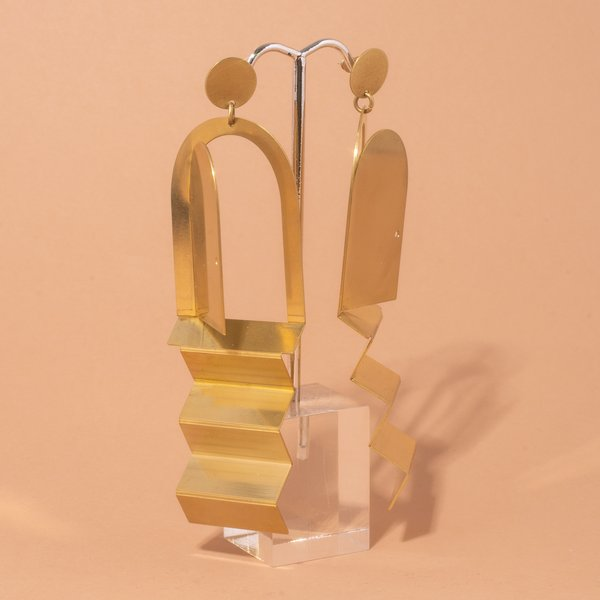 Relativity Stairway Earrings