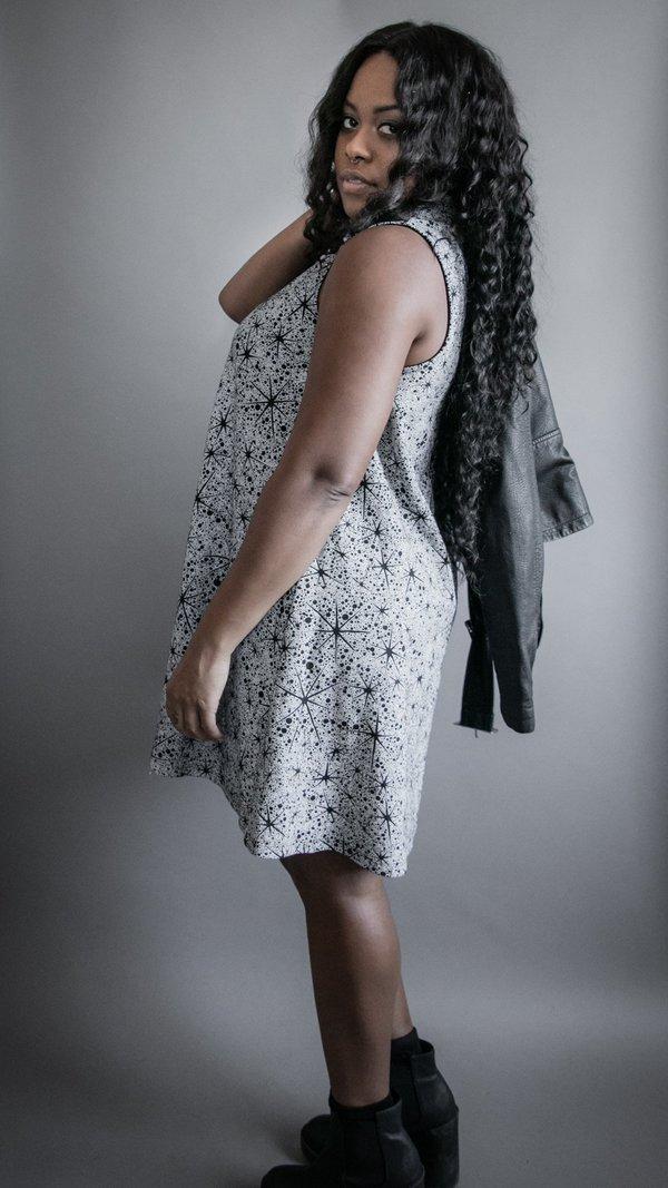 Rosemary Tank Dress - Stars