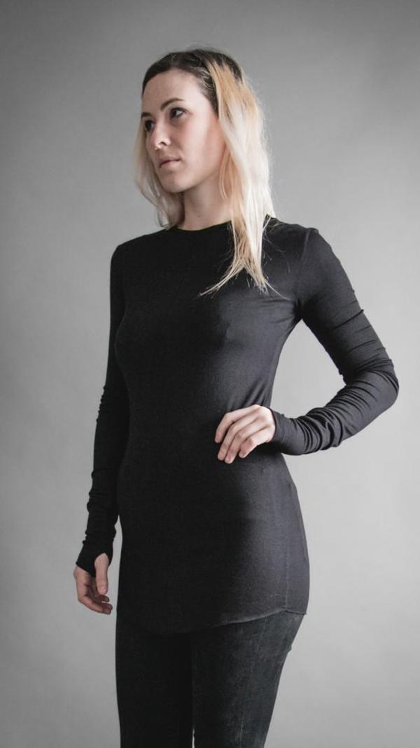 Ser 2.0 Long Sleeve Tunic - Black