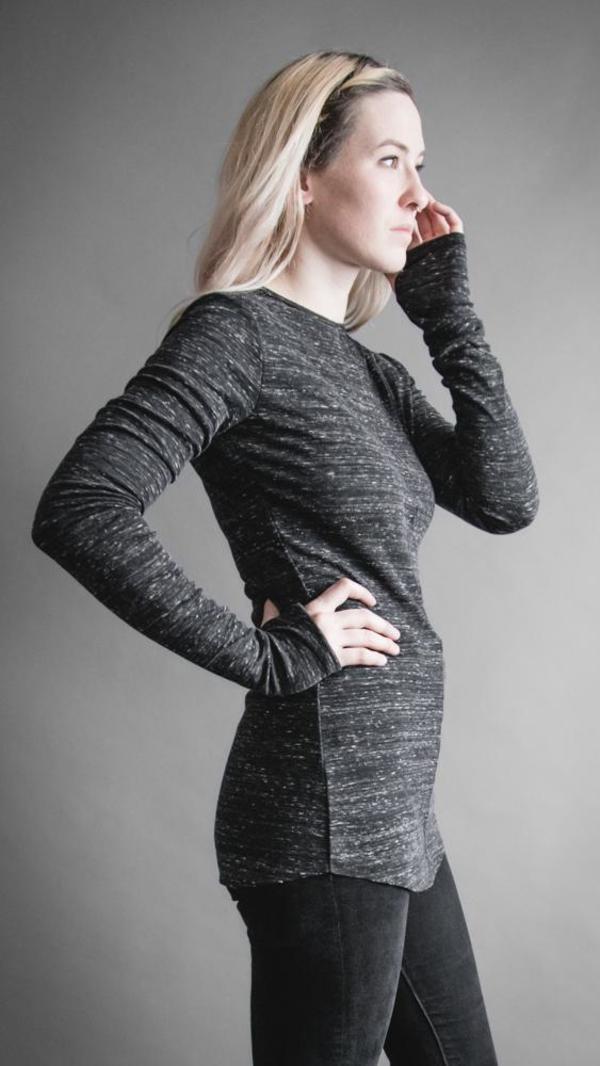 Ser 2.0 Long Sleeve Tunic - Heatherette