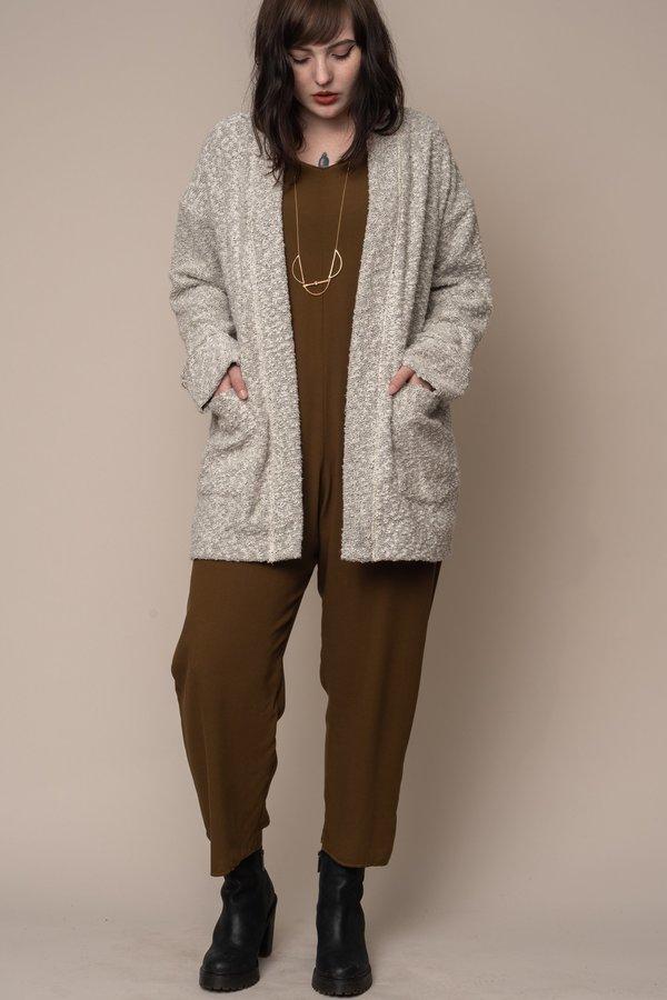 Silver Pebble Knit Cardigan