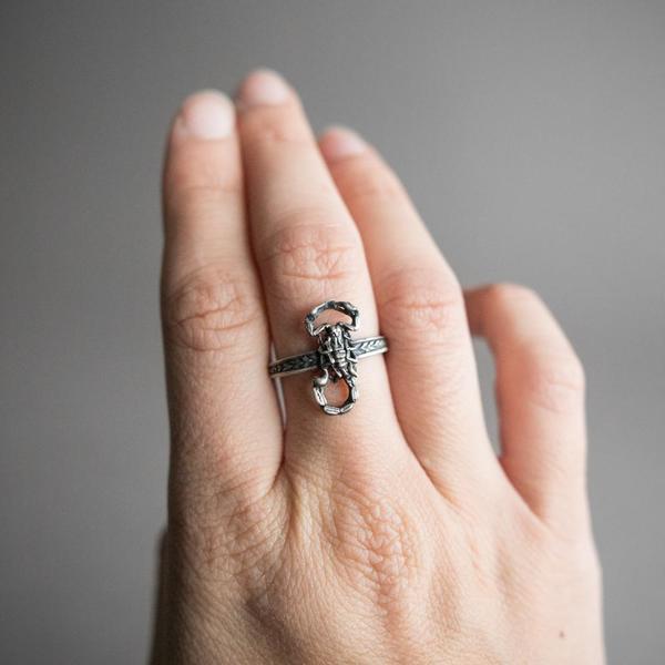 Small Scorpion Ring