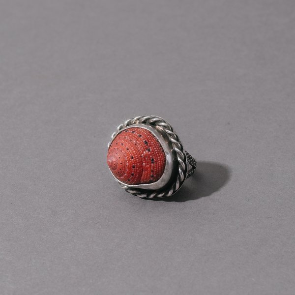 Strawberry Shell Ring