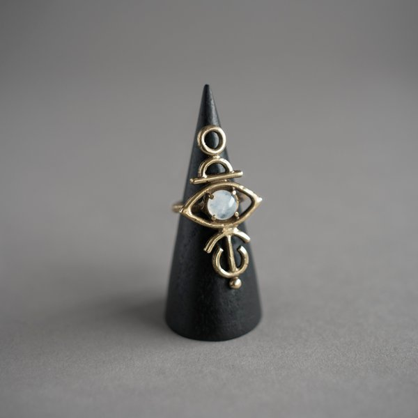 Sulis Moonstone Ring