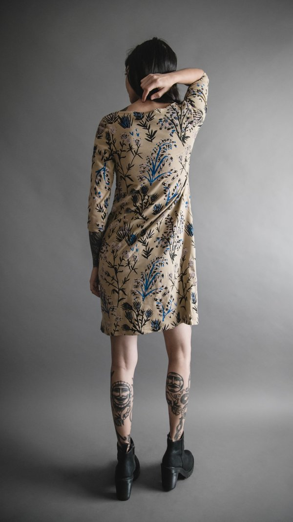 Taupe Thistle Shift Dress