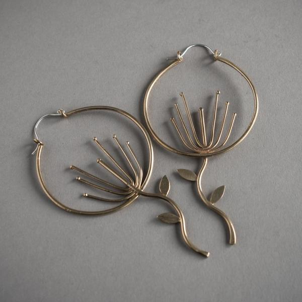 Wishing Flower Earrings