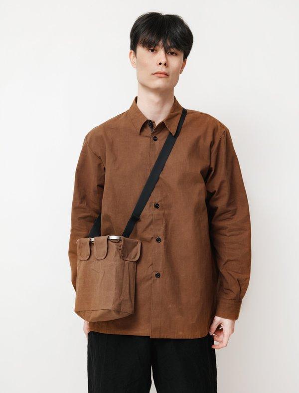 MAN-TLE Mens R10 Frame Bag - Soil Wax