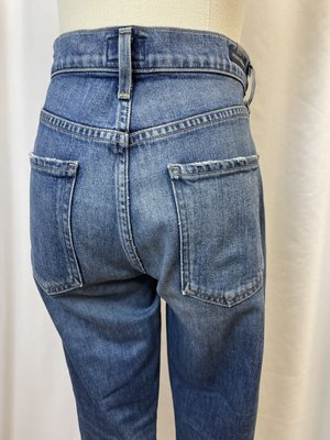 """Citizens of Humanity """"Demy Cropped Flare"""" Denim (28)"""