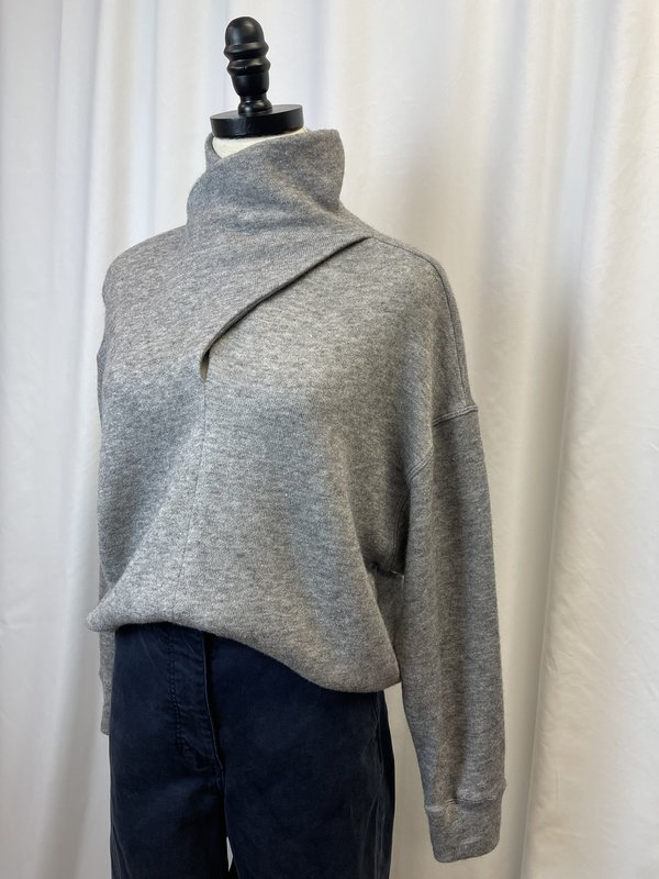 FifteenTwenty Twist Mock Neck Sweater (XS)