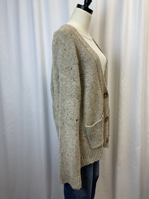 Margaret O'Leary Distressed Cardigan (L)