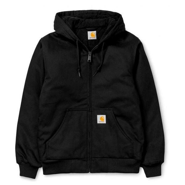 Active Jacket (Winter) 'Black / White'