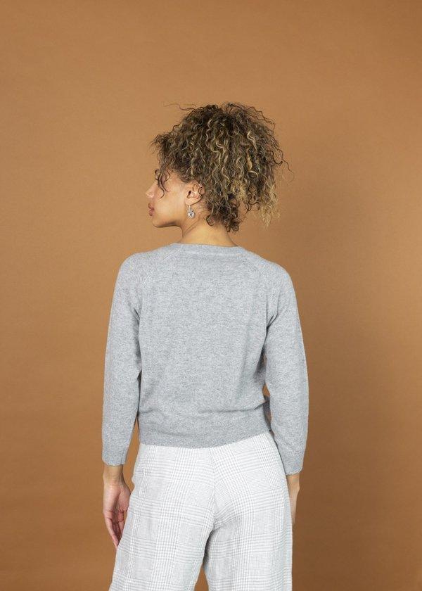 Brazeau Tricot Cashmere Sweatshirt - flower