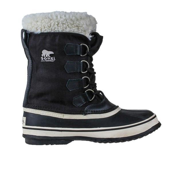 Sorel Winter Carnival Boots - Black/Stone