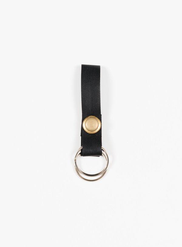 MAN-TLE R10 K1 Keyring - Black/Brass