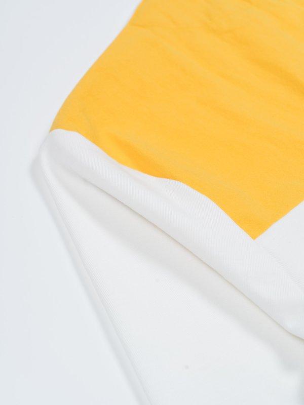 MAN-TLE R10 T1 Tee - White/Yellow