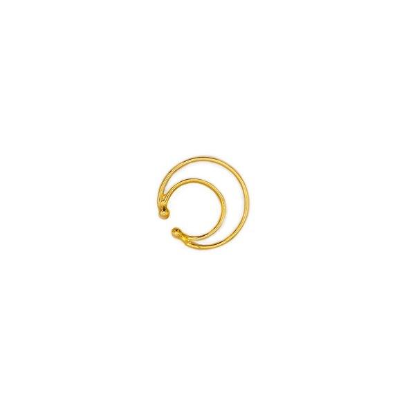 Joomi Lim Double Hoop Ear Cuff - Gold