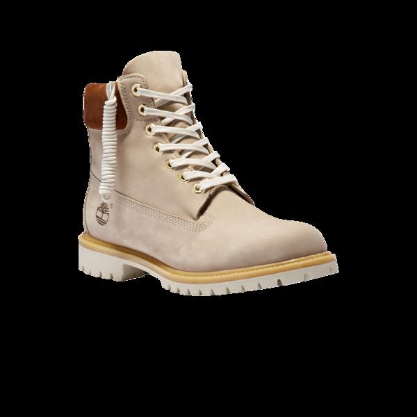 Timberland Premium 6 inch Waterproof Boot - Light Beige