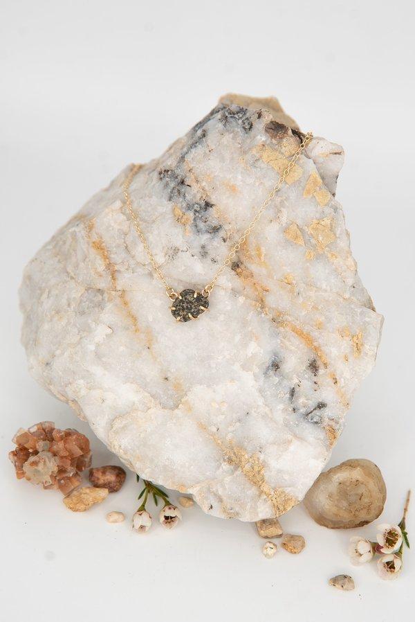 Jess Meany 12 Stone Necklace - 14k gold-filled