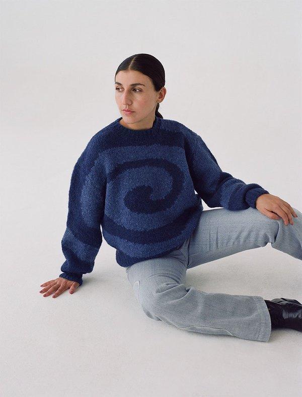 Paloma wool Twister Knit Sweater - navy