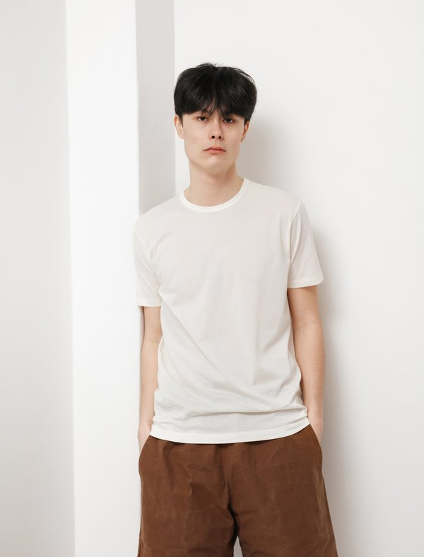 Sunspel Classic Crew T-Shirt - Archive White