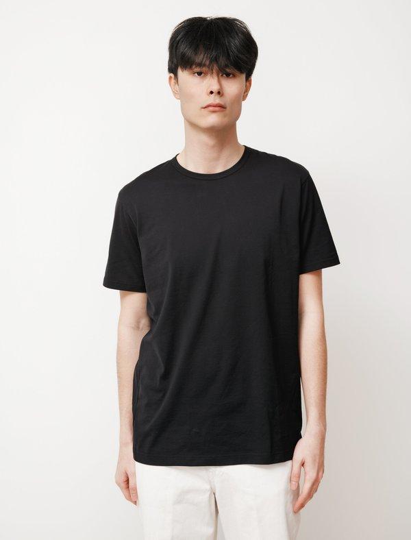 Sunspel Short Sleeve Classic Tee - Black