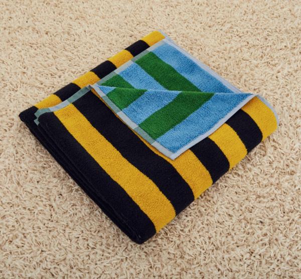 Dusen Dusen set of Striped Towels