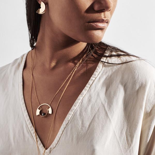 Metalepsis Projects Lygia Earrings - Brass