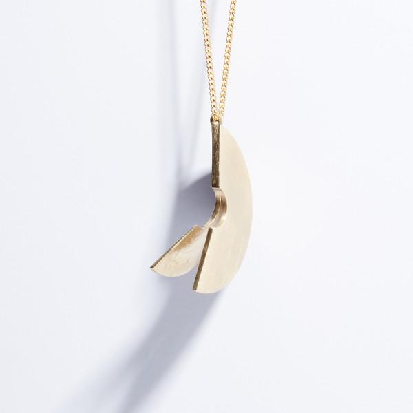 Metalepsis Projects Lygia Pendant - brass