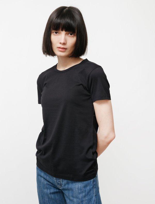 Sunspel Classic Crew Neck T-Shirt - Black