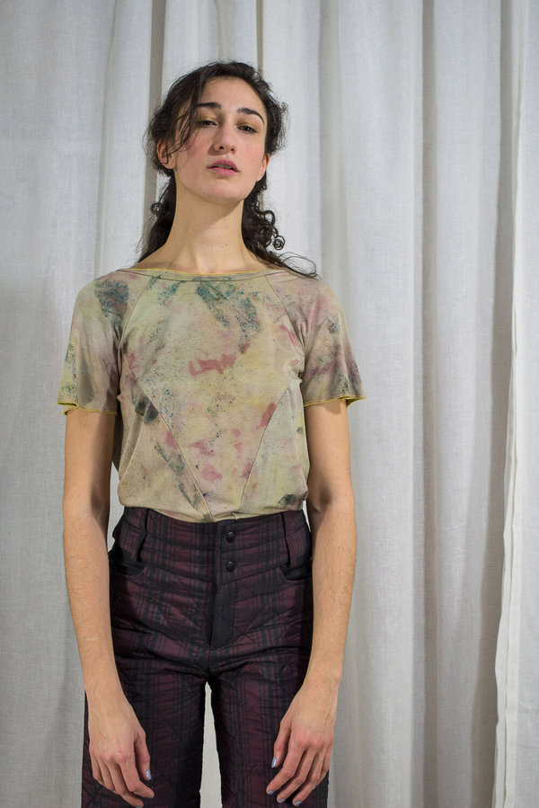 V-NECK TEE - HAND DYED