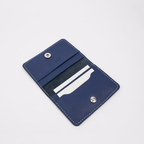Bifold Card Holder, Royal Blue