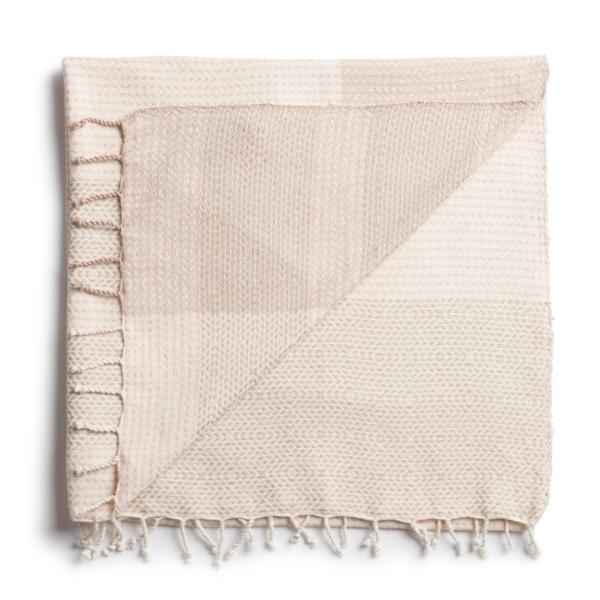 Solola Blanket Sand/Blush