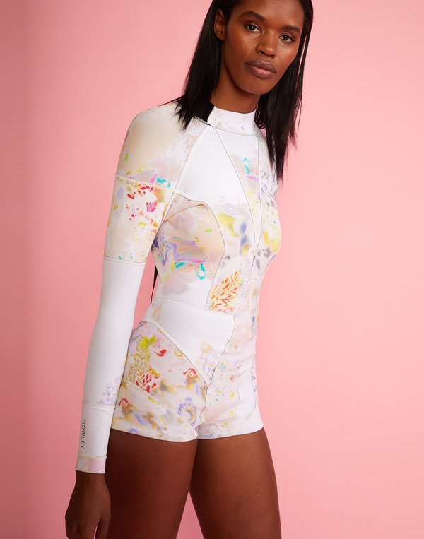 Light Floral High Tide Wetsuit - CR x Goop Exclusive