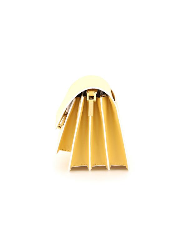 Marni Trunk Medium Leather Bag - Yellow