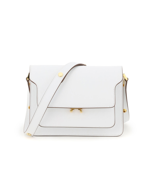 Marni Saffiano Leather Trunk Medium Bag
