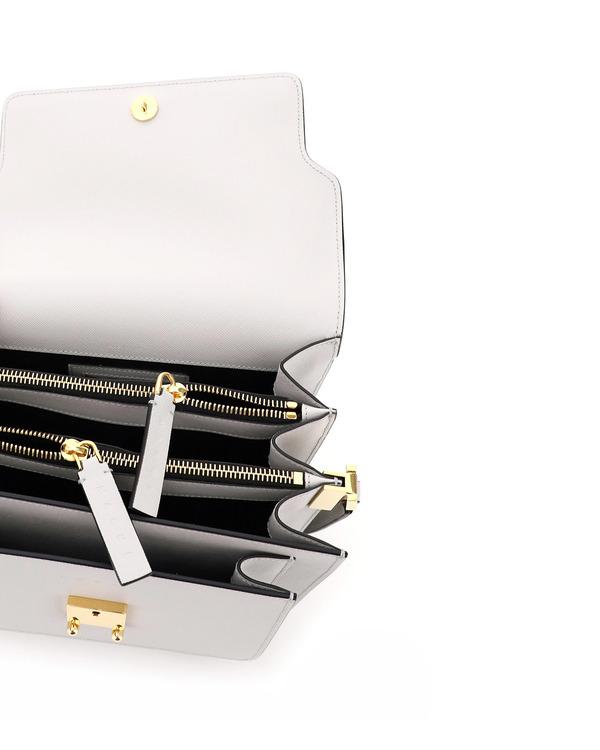 Marni Trunk Saffiano Leather Bag