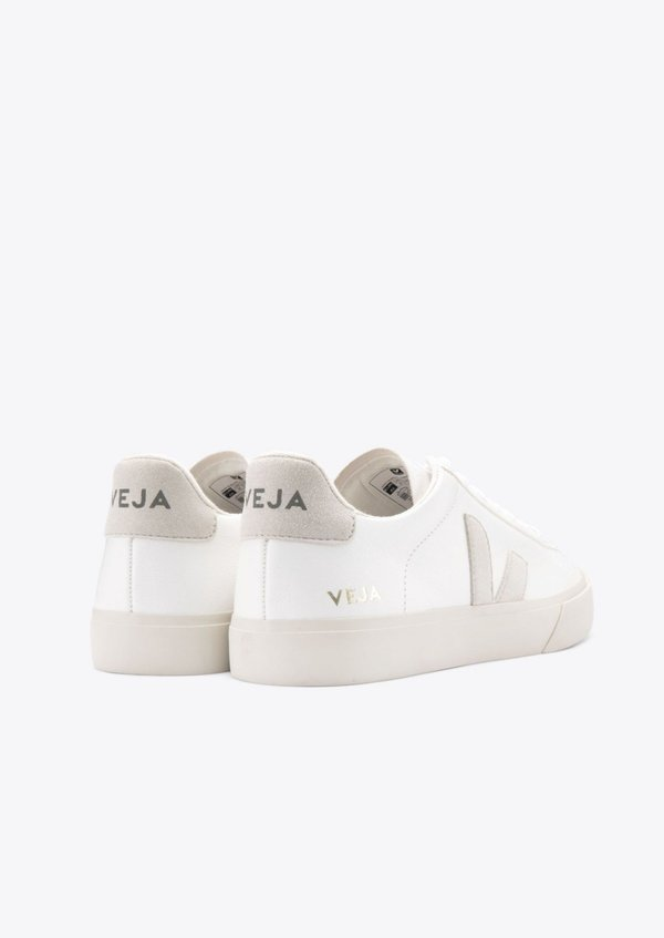 VEJA Campo sneaker - Extra White Natural Suede