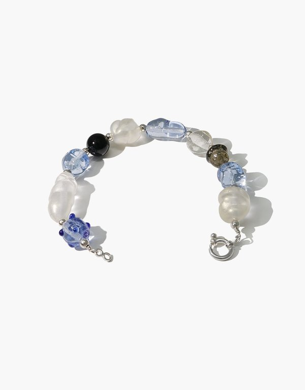 Cled Blue Pearl Bracelet - Blue Multi