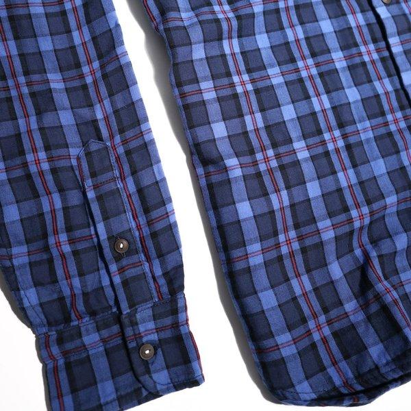 KATO The Ripper Shirt - Blue Plaid