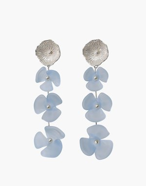 Cled Periwinkle Trio Earrings
