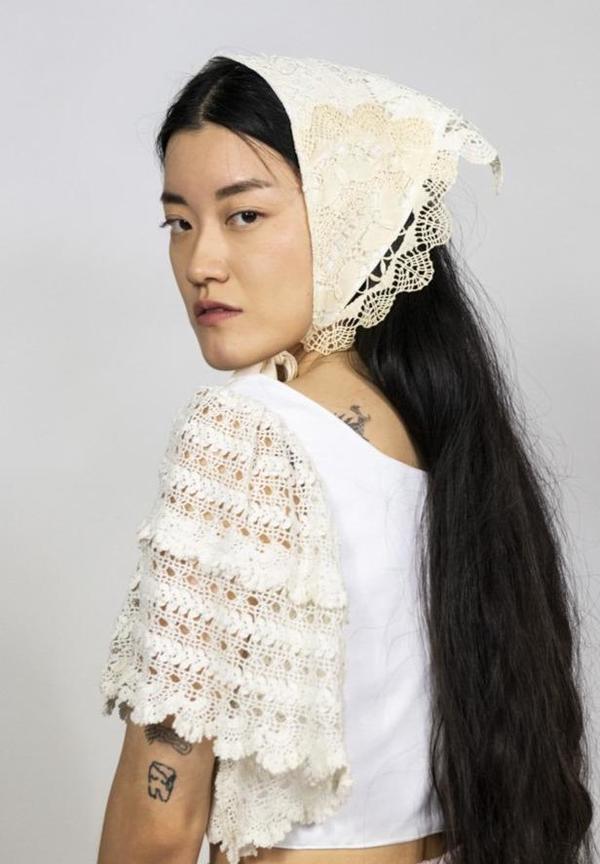 Rightful Owner Doillie Handkerchief - Cream