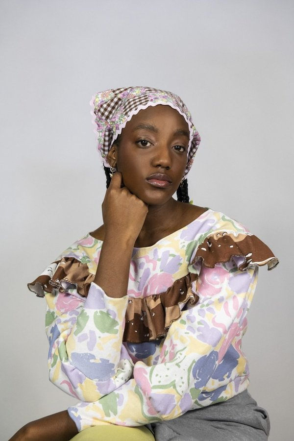 Rightful Owner patchwork handkerchief