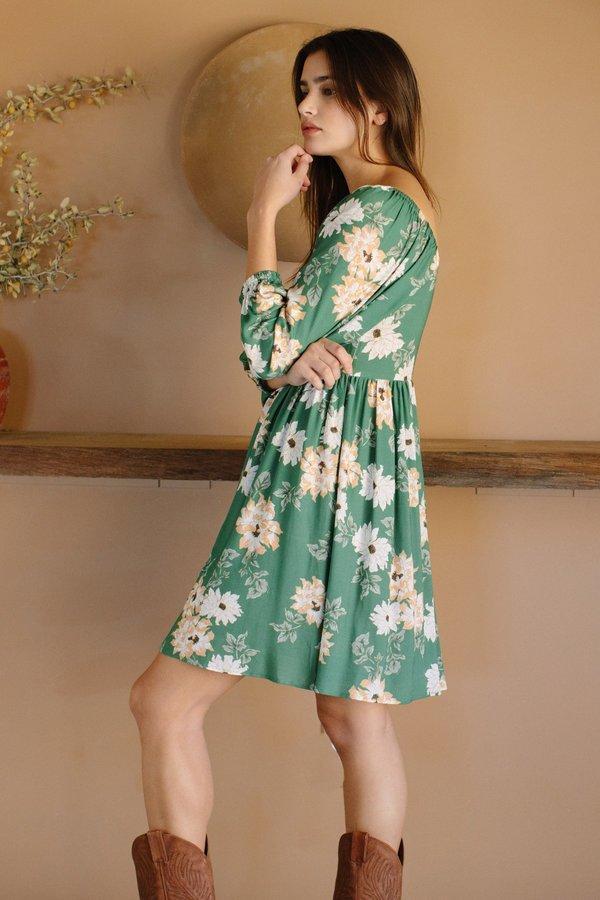 Rachel Pally Crepe Julieta Dress - Zinnia