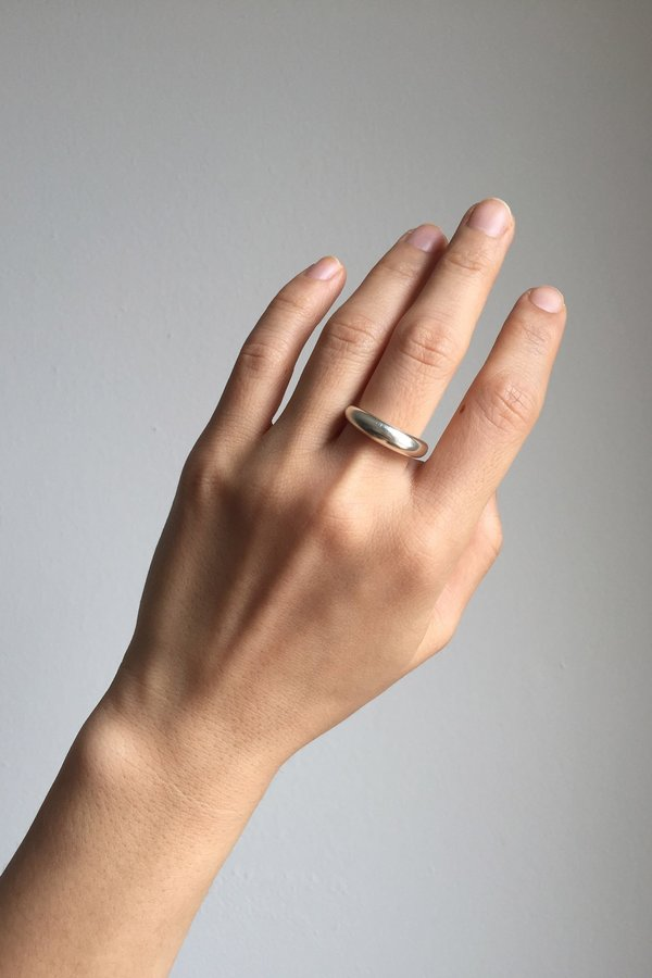 Ordinary Objects Volum Ring - Silver