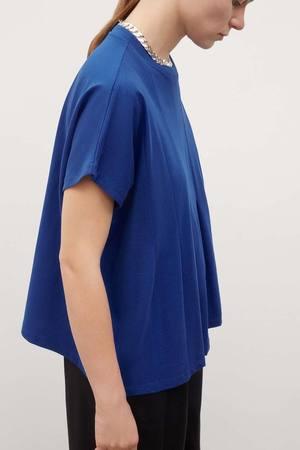 Kowtow Folding Top - Bright Blue