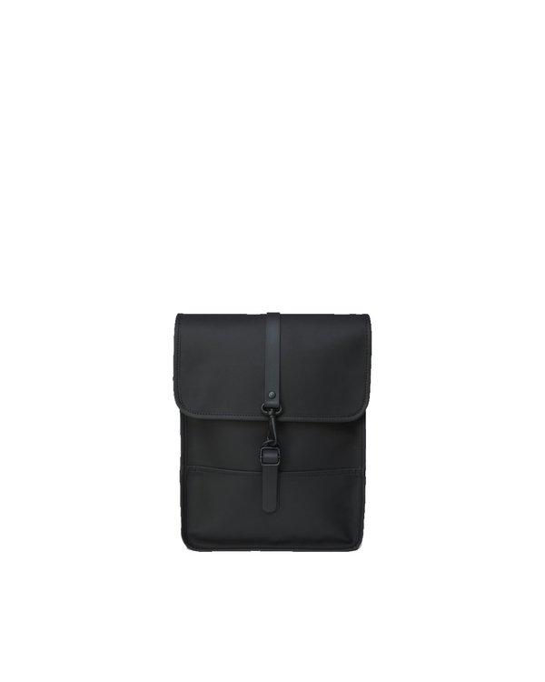 Unisex Rains Mochila Backpack Micro - Black