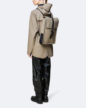 Unisex Rains Mochila Backpack Mini - Taupe