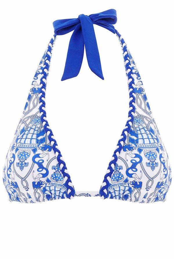 Paolita Cleo Amina Top - Blue/White