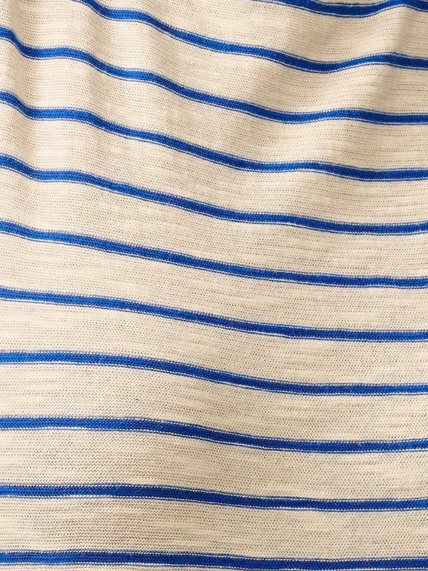 Bellerose Seas Stripe T-Shirt - Blue